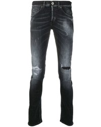 Dondup Slim Fit Distressed Jeans