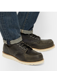 a1af55b6560 Red Wing Shoes 8890 Moc Leather Boots, $260 | MR PORTER | Lookastic.com