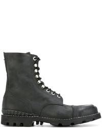 Diesel Ridged Sole Boots