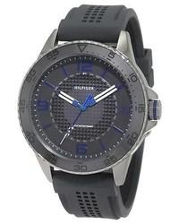 Tommy Hilfiger Kiefer 1790836 Grey Silicone Sports Watch