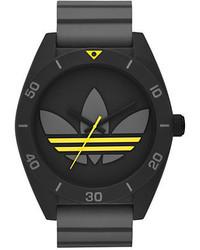 adidas Santiago Grey Silicone Strap Watch