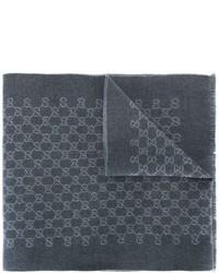 Gg jacquard scarf medium 640508