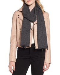 AllSaints Rolled Ends Wool Cashmere Scarf