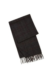 Sandals Cay Plaid Pure Cashmere Scarf