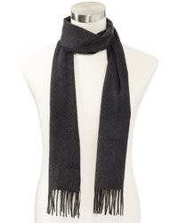 Hugo Boss Scottas Scarf Charcoal One Size