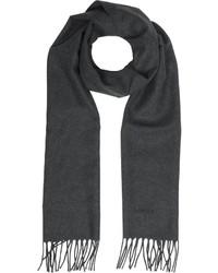 Lanvin Solid Fringed Wool Scarf