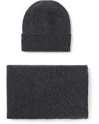 William Lockie Cashmere Hat And Scarf Set