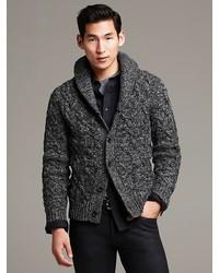9a4602d701fa7c Men's Charcoal Cardigans by Banana Republic | Men's Fashion ...