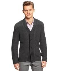 Calvin Klein Sweater Marl Blocked Shawl Collar Cardigan Sweater  Macys