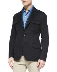 Loro Piana Cashmere Notched Collar Sport Coat