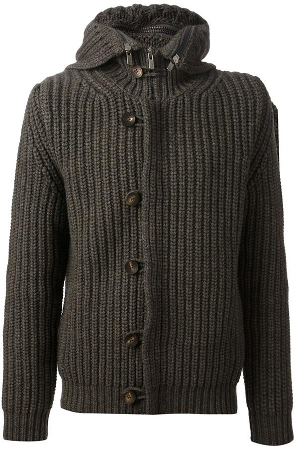 Jacob Cohen Chunky Knit Cardigan