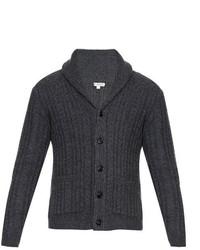 Burberry London Nissington Aran Knit Cardigan