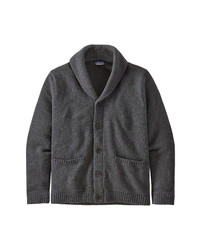 Patagonia Recycled Wool Blend Shawl Collar Cardigan