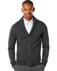 ... Perry Ellis Shawl Collar Cardigan Sweater f346cfe7d