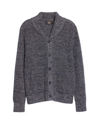 RRL Shawl Collar Cotton Linen Cardigan