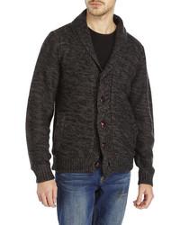 Weatherproof Shawl Collar Faux Fur Lined Cardigan
