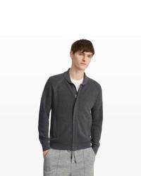 Club Monaco Shawl Full Zip Sweater