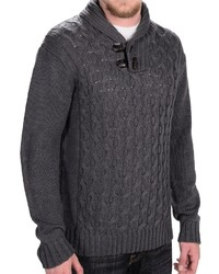 Weatherproof Cable Sweater