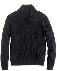 J.Crew Cotton Cashmere Shawl Collar Sweater