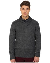 Rodd & Gunn New Clarkes Cowl Neck Heathered Merino Sweater