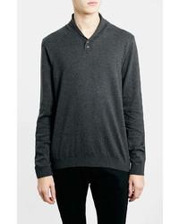 Topman Shawl Collar Sweater