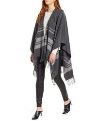 Stripe cashmere ruana medium 8738650