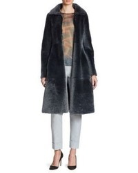 Shearling princess coat medium 4397384