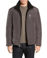 Marc New York Faux Shearling Reversible Quilted Jacket