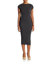 Charcoal sheath dress original 9816472