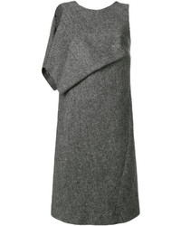 Draped panel shift dress medium 5275808