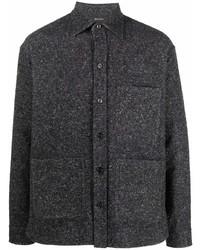 Z Zegna Textured Shirt Jacket