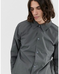 Dickies Torrance Coach Jacket In Charcoal