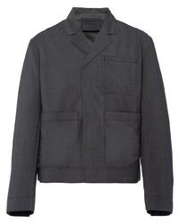 Prada Touch Strap Wool Jacket