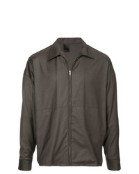 N. Hoolywood Zip Up Shirt
