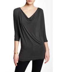 Michl stars dolman draped blouse medium 437462
