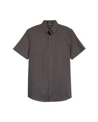 Nordstrom Men's Shop Fit Short Sleeve Button Up Shirt