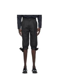 Maison Margiela Grey Cavalry Bermuda Shorts