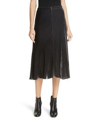 Eileen Fisher Velvet A Line Skirt