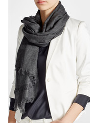 Brunello Cucinelli Cashmere Scarf With Silk
