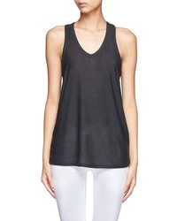 Alexander Wang T By Racer Back Tank Top