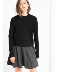 Mango Elastic Skater Skirt