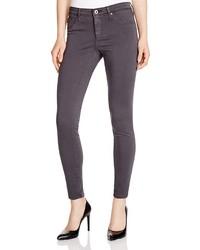 AG Jeans Ag Legging Ankle Jeans In Dark Charcoal 100%
