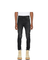 R13 Black Cooper Drop Jeans