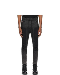 Diesel Black Denim D Vider 0094p Jeans