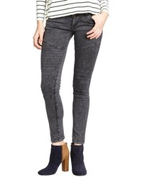 James Jeans Charcoal Stretch Moto Skinny Leg Jeans