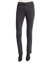 Armani Collezioni Five Pocket Stretch Skinny Jeans Gray