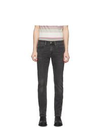 Levis Grey 511 Slim Fit Flex Jeans