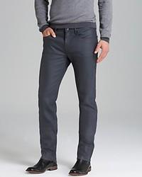 Hugo Boss Hugo Jeans 734 Slim Fit In Grey