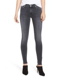 Hudson Jeans Nico Raw Hem Super Skinny Jeans