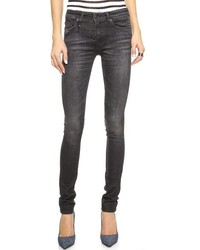 R13 the alison mid rise ankle skinny jeans medium 226246